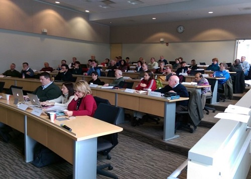 Attendees at Faculty Development Day
