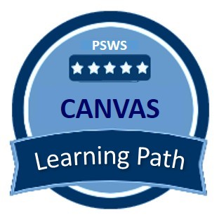 Canvas Learning Path badge