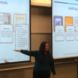 Instructional designer discussing classroom technology tools