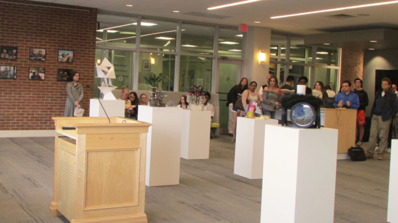 art and sculpture exhibit