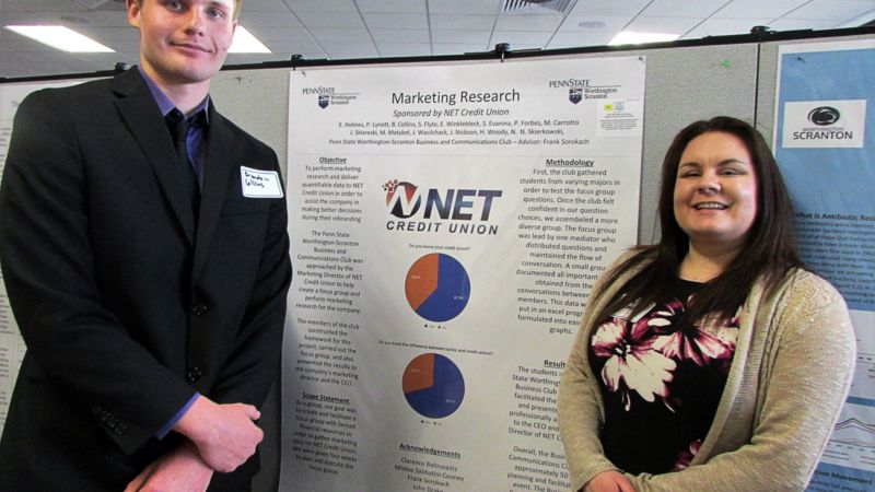 NET project at research fair