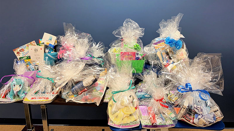 gift baskets for residents of carbondale nursing home