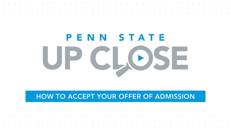 How To Accept Your Offer of Admission