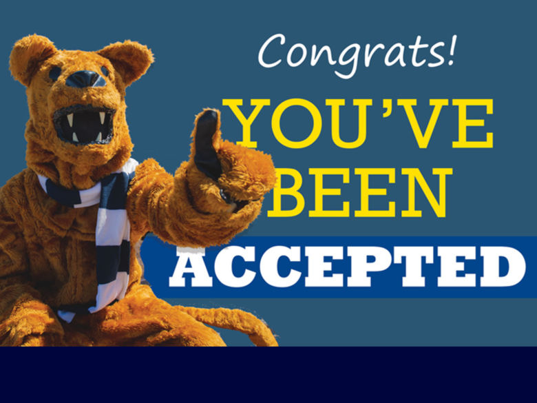 Congrats! You've been accepted.