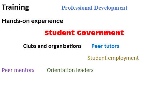 student leaders graphic