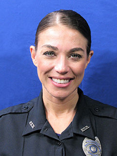 headshot of Susan Laguzzi in uniform