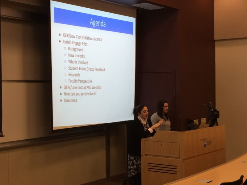 Open Educational Resources presentation