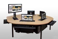 IST Collaborative Learning Suite work station