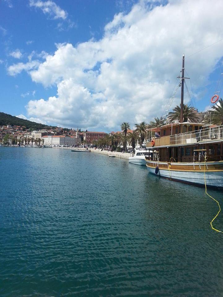 Photo of seaport, Split, Croatia, on the Adriatic Sea