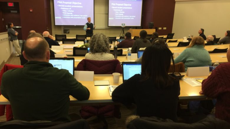 Attendees at 2018 Faculty Development Day event