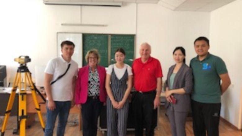 Peslak and colleagues in Kazakhstan