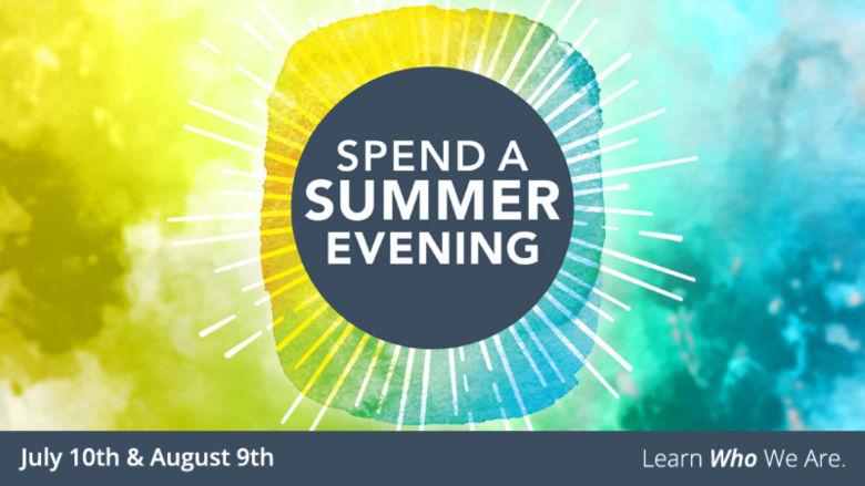 spend a summer evening