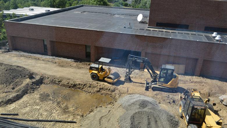SLC patio under construction
